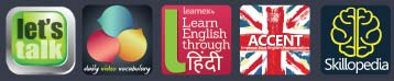English learning Mobile applications by Lets Talk