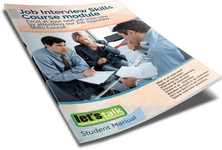 Job Interview skills course book