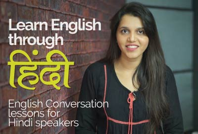 English speaking course - Learn English through Hindi
