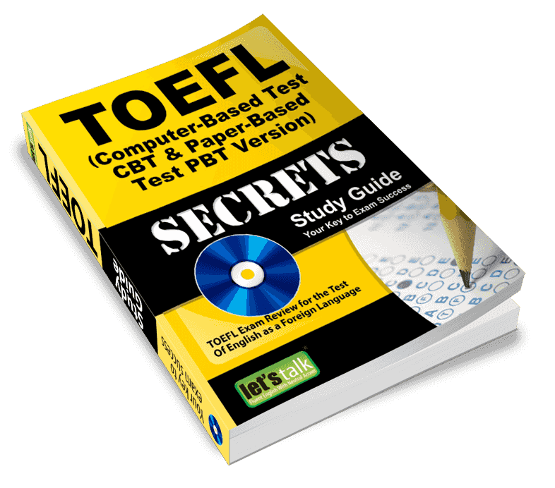 TOEFL ibt course preparation book